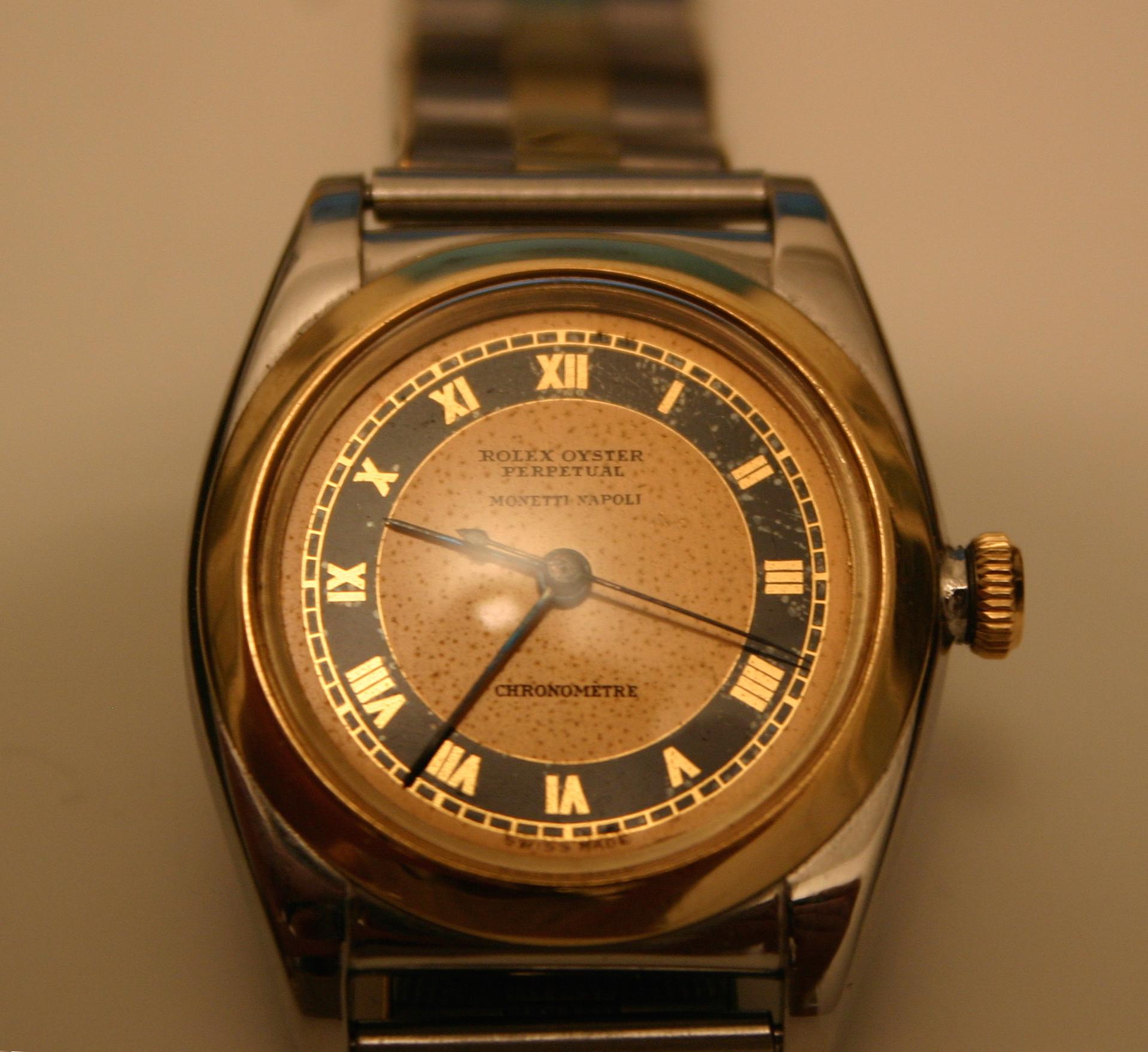 nuovo prodotto caad7 15bee Favoloso orologio d'epoca Rolex modello Ovetto | WATCHLOVER